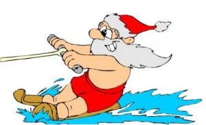 Logo des Weihnachtsschwimmfests